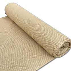 Alion Home 180 GSM Sunblock Shade Fabric Roll, 95% UV Block Breathable Mesh for Patio, Pergola,  ...
