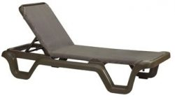 Grosfillex Marina Sling Chaise Lounge – US515137 (2 pack)