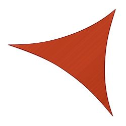 Sunlax 10′ x 10′ x 10′ Terra Color Triangle UV Block Sun Shade Sail Canopy for ...