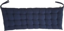 """Cottone 100% Cotton Bench Pads w/ Ties  