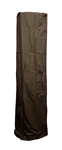 Golden Flame Full Length Cover (Mocha-Brown) for 4-Sided Glass Tube Heaters