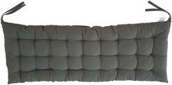 "Cottone 100% Cotton Bench Pads w/ Ties  | 42"" x 16""