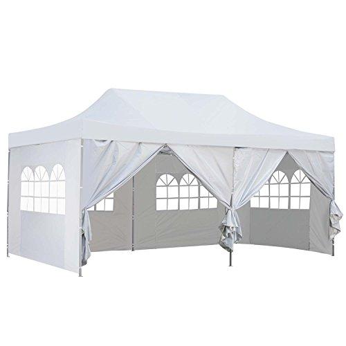 Outdoor Basic 10x20 Ft Pop Up Canopy Party Wedding Gazebo