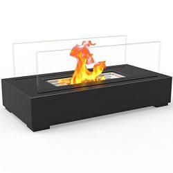Regal Flame Utopia Ventless Indoor Outdoor Fire Pit Tabletop Portable Fire Bowl Pot Bio Ethanol  ...