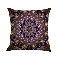 KMG Kimloog Hot Sale!Mandala Pillow Case Bohemia Design Indoor Outdoor Decorative Square Cushion ...