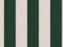 STRIPE CANVAS AWNING FABRIC WATERPROOF OUTDOOR FABRIC 60″ ( HUNTER GREEN /WHITE 5, YARDS)