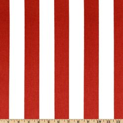 Premier Prints Canopy Stripe Lipstick Fabric By The Yard