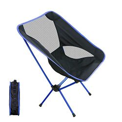 Kany Portable Ultralight Folding Chair for Picnic,Hiking, Fishing, Camping, Garden BBQ, Beach Pa ...