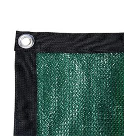 Shatex Shade Fabric for Pergola/Patio/Garden New Design Shade Panel with Grommets 6x8ft Frostgreen