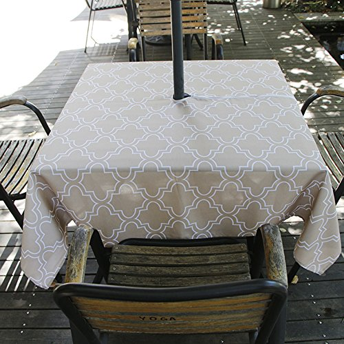 Colorbird Elegant Moroccan Outdoor Tablecloth Waterproof