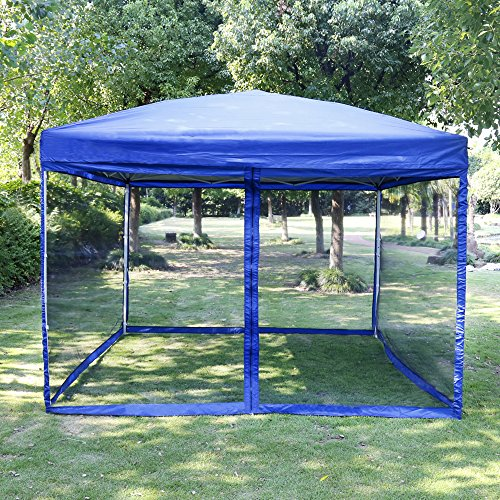 Vivohome Outdoor Easy Pop Up Canopy Screen Party Tent With