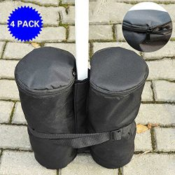Outdoor 4PC Weight Sand Anchor Bags For Canopy Party Gazebo Pop Up Tent Pole