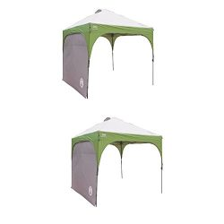 Coleman Instant Canopy Sunwall, Accessory Only, 10 x 10 Feet – 2 Packs