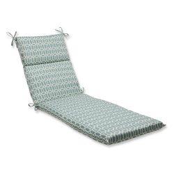 Pillow Perfect Outdoor Rhodes Quartz Chaise Lounge Cushion