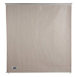 Cool Area 6ft x 6ft Outdoor Roller Sun Shade Blinds, Exterior Privacy Shade Panel for Patio Gard ...