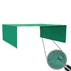 Alion Home Rod Pocket Waterproof Universal Replacement Shade Canopy Top Cover (No Grommets) for  ...