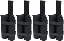 Just Relax UNIVERSAL 4-PIECE HEAVY DUTY WEIGHT BAGS SET by 1400 Denier Polyester with PVC Coatin ...