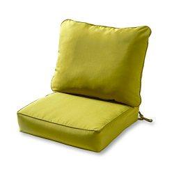 Greendale Home Fashions Deep Seat Cushion Set, Kiwi