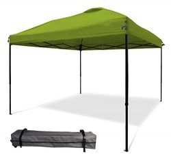 10'x10′ Pop UP Canopy Tent Instant Shelter Straight Wall with Wheeled Carry Bag