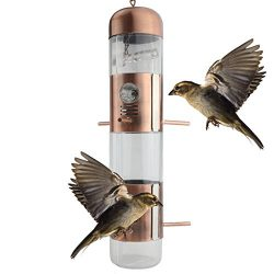 Ogrmar Hanging Perky-Pet Gazebo Wild Bird Feeder -Perfect for Garden Decoration and Bird Watchin ...