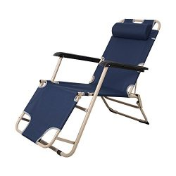 KARMAS PRODUCT Outdoor Patio Chaise Lounge Chair Folding Recline Small