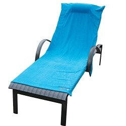 Chillax Beach Chair Towels Terry Cloth Covers Lounge Cruise Wear – Towel Cover with Pocket ...