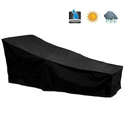 Hootech Patio Chaise Lounge Cover Heavy Duty Outdoor Lounge Chair Protector Waterproof Lightweig ...