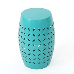 Christopher Knight Home 301567 Lilac Ckh Outdoor Accent Tables, Teal