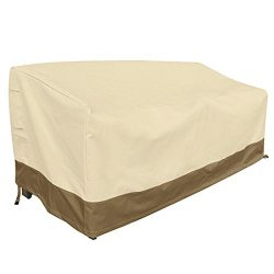 Vanteriam Outdoor Furniture Waterproof Cover for 3-Seater Sofa, All Weather Protection Patio Out ...