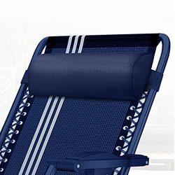 Universal Zero Gravity Chair Replacement Pillow Headrest, Zero Gravity Recliner Lounge Chair Pil ...