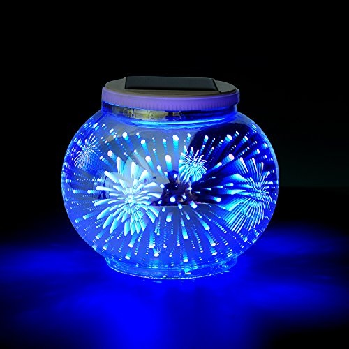 Solar Mosaic Table Lamps Color Changing Yurnero Solar