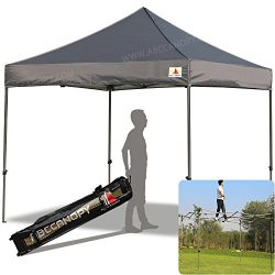 ABCCANOPY Kingkong-series 10 X 10-feet Commercial Instant Canopy Kit Ez Pop up Tent,Bonus Roller ...