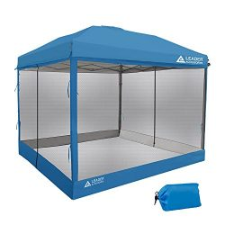 Leader Accessories Screen House for 10′ x 10′ Canopy, Blue