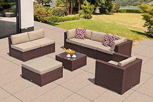 Super Patio Outdoor Patio Furniture Set, 8 Piece All