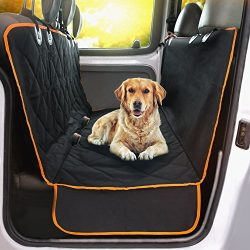 Doggie World Dog Car Seat Cover – XL Cars, Trucks and Suvs Luxury Full Protector, w/Extra  ...