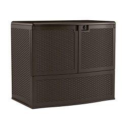 Suncast VDB19500J Vertical Deck Box