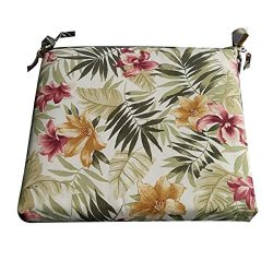 Nattork Floral Cushions For Outdoor Furniture Not Fade,Water-Resistant & Uv-Resistant Seat C ...