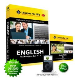 Lessons For Life – English (US): THE COMPLETE SET – V2.2 – includes 7 full pro ...
