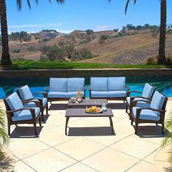 Diensday Patio Furniture|Sectional Conversation Chair Outdoor Sofa Sets Clearance Deep Seating C ...