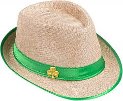 Saint Patrick's Day Shamrock Fedora Costume Accessory Party Hat