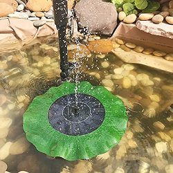V-Best Solar Fountain Pump for Bird Bath,Small Water Fountain Pump, SOONHUA Floating Outdoor Sol ...