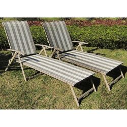 Mainstays Fair Park Sling Folding Lounge Chairs, Set of 2, Multiple Colors