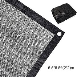 EFFT Life 50%-70% Sunblock Shade Cloth Net Black UV Resistant, Garden Shade Mesh Tarp for Plant  ...