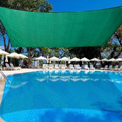 Sundale Outdoor 13′ X 19′ Rectangular Sun Shade Sail UV Blocked Outdoor Patio Cover  ...