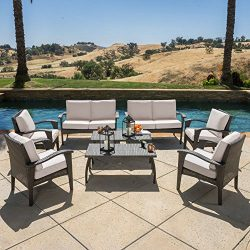 Diensday Outdoor Furniture|Sectional Chair Sofa Patio Sets Clearance Deep Seating Cushions Chat  ...
