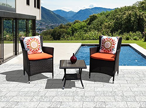 Patioroma Patio Furniture Set Weather Resistant Outdoor