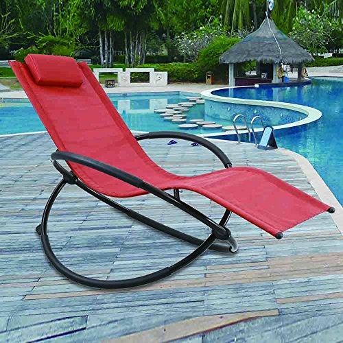 Grearden Outdoor Lounge Chair Orbital Zero Gravity Patio