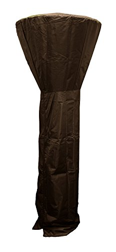 Golden Flame Full Length Cover (Mocha-Brown) for Round Dome Heaters up to 33 Inch Dia
