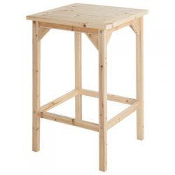 Tall Cedar/Fir Bar Table, Model# SS-CSN-BT68