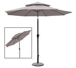 10 Ft. Pagoda style patio umbrella